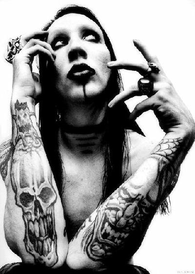Marilyn Manson  Deep Thoughts By Healey-7343
